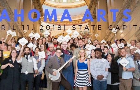 Save the Date for Oklahoma Arts Day: April 11th, 2018