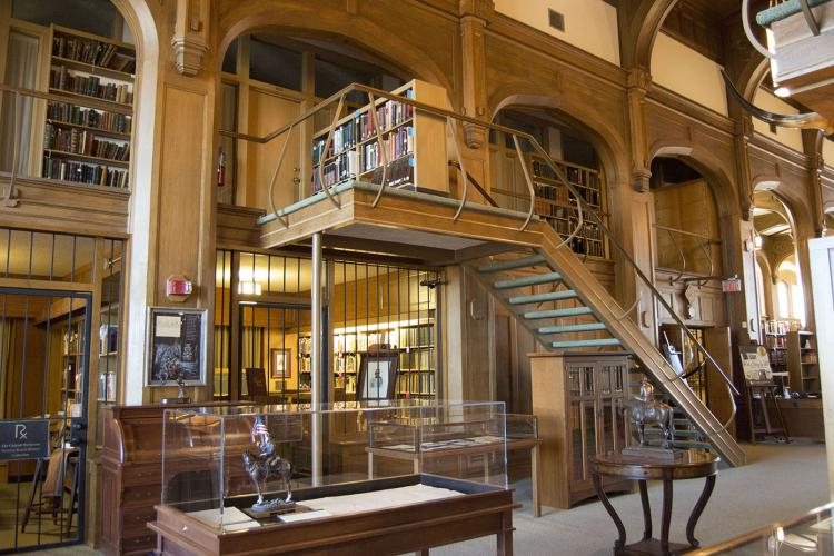 The Western History Collections Reading Room at the University of Oklahoma