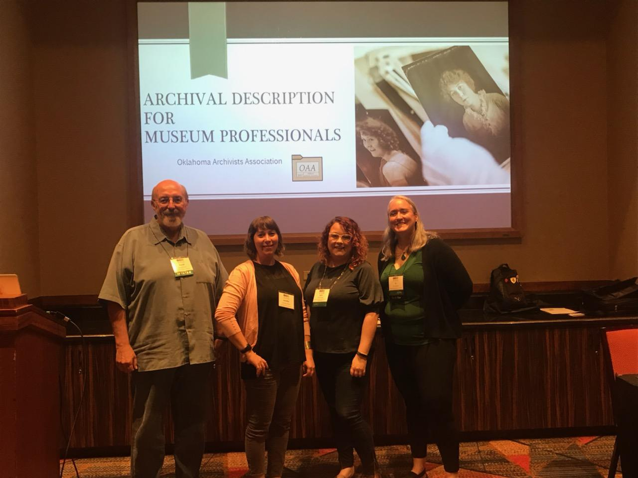 OAA members give workshop at Oklahoma Museums Association Conference