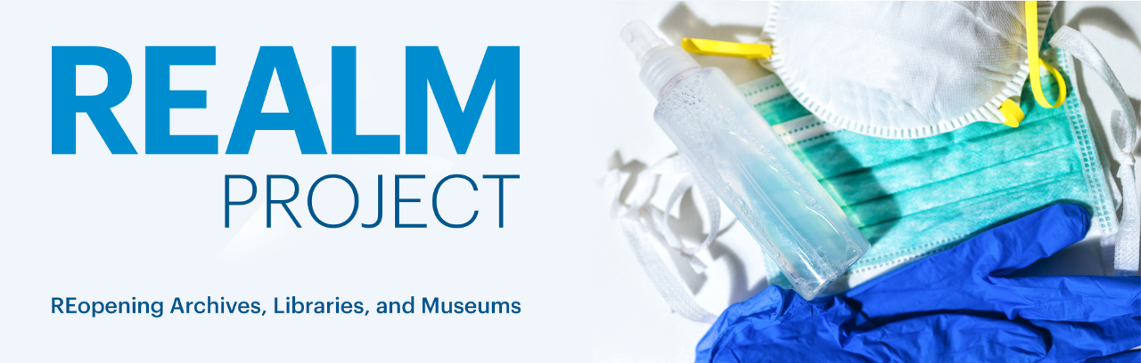 REopening Archives, Libraries and Museums (REALM) Project Site launches