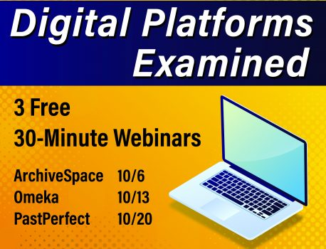 Webinars scheduled for October